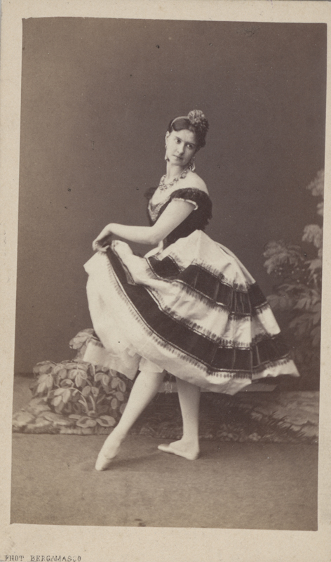 Maria Surovshchikova-Petipa as Alma (1865)