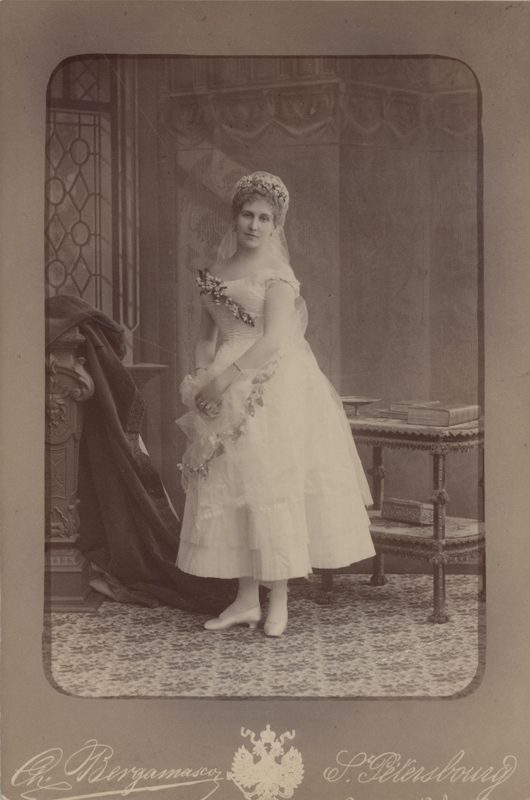 Eugenia Sokolova as Berta (1885)