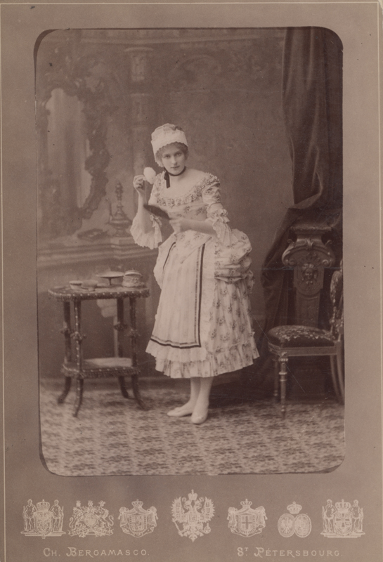 Marie Petipa as the Countess's Maid (1885)