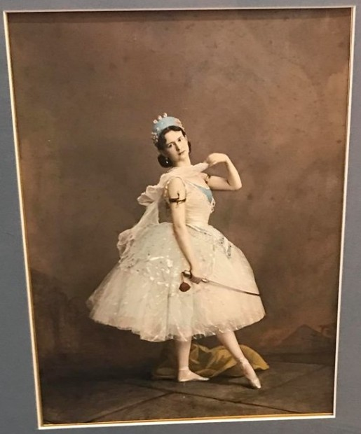 Maria Surovshchikova-Petipa as Princess Aspicia in The Pharaoh's Daughter