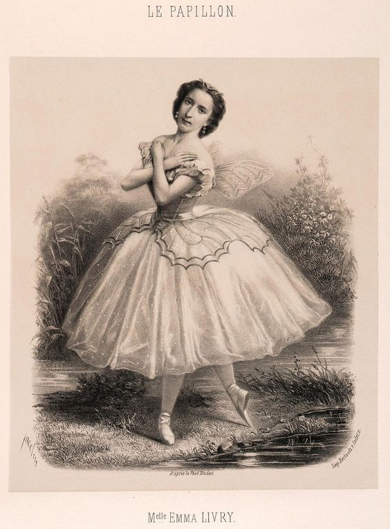 Emma Livry as Farfalla (1860)