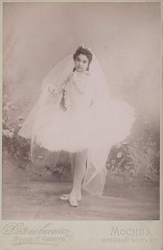 Elizaveta Charpentier as Lilia (1897)
