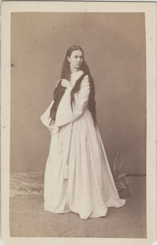 Praskovya Lebedeva as Satanella (1867)