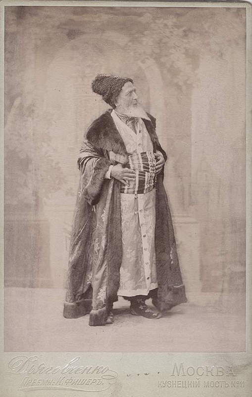 Vasily Geltzer as the Vizir (1897)