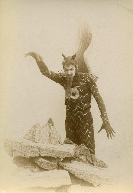 Alexei Bulgakov as the Evil Genius (1895)