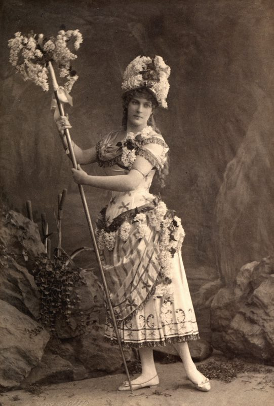 Marie Petipa as the Lilac Fairy (1890)