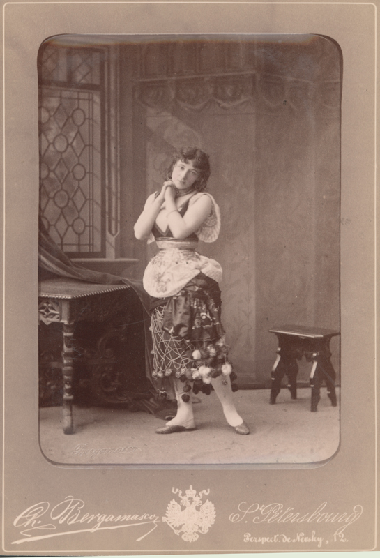 Virginia Zucchi as Esmeralda (1886)