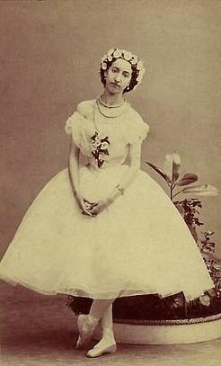Emma Livry as the Sylph (1862)