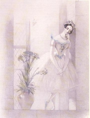 La Sylphide - Marie Taglioni as the Sylph - 1832 (3)