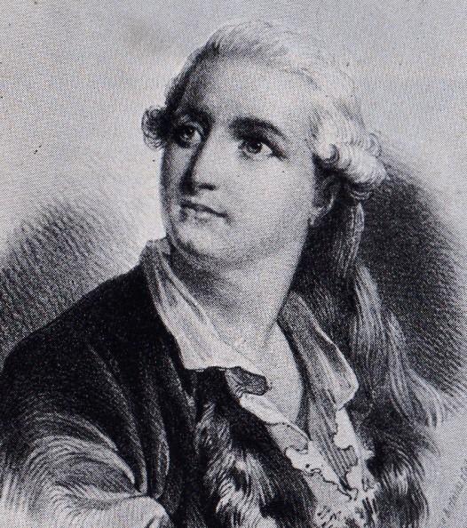 Lithograph of Jean Dauberval (ca. 1790)
