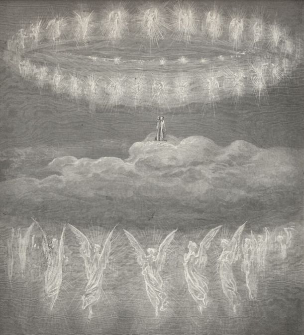 Illustration for Paradiso by Gustave Dore