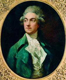 Gaetan Vestris, painting by Thomas Gainsborough (1781)
