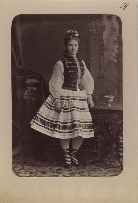 Ekaterina Vazem as Kathi (1881)