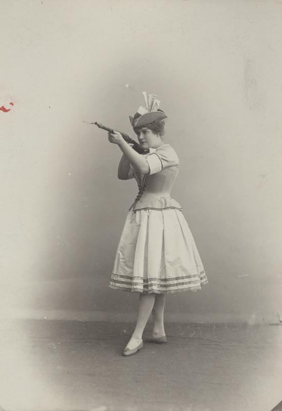 Marie Petipa as Kathi (1901)