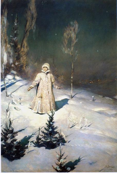 Snow Maiden by Victor Vasnetsov (1899)