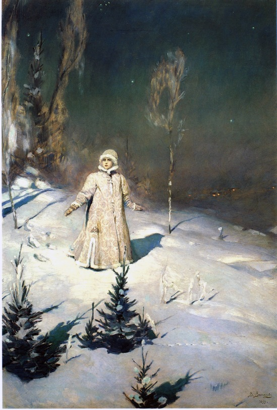 Snow Maiden by Victor Vasnetsov (1899)