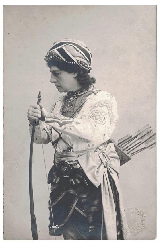 Pavel Gerdt as Solor in La Bayadère (1900)