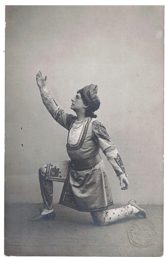 Pavel Gerdt as Solor (1900)