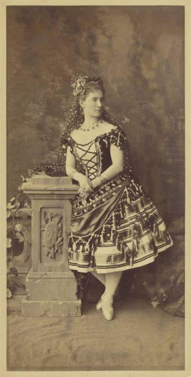 Ekaterina Vazem as Paquita (1881)
