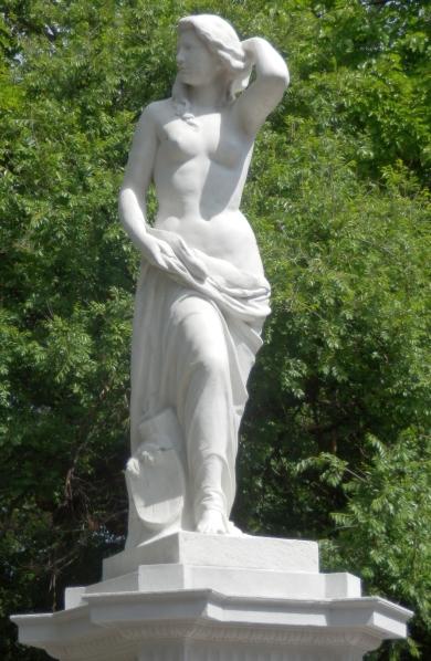 The Donauweibchenbrunnen in Vienna