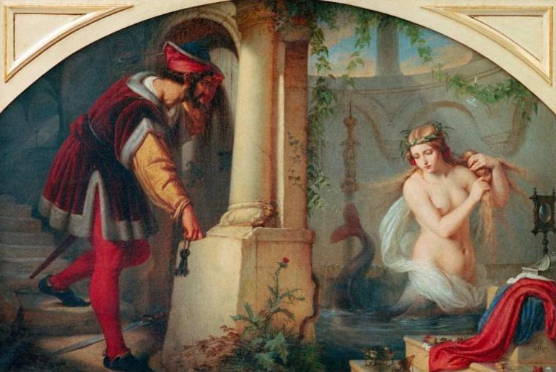 Melusine by Julius Hubner